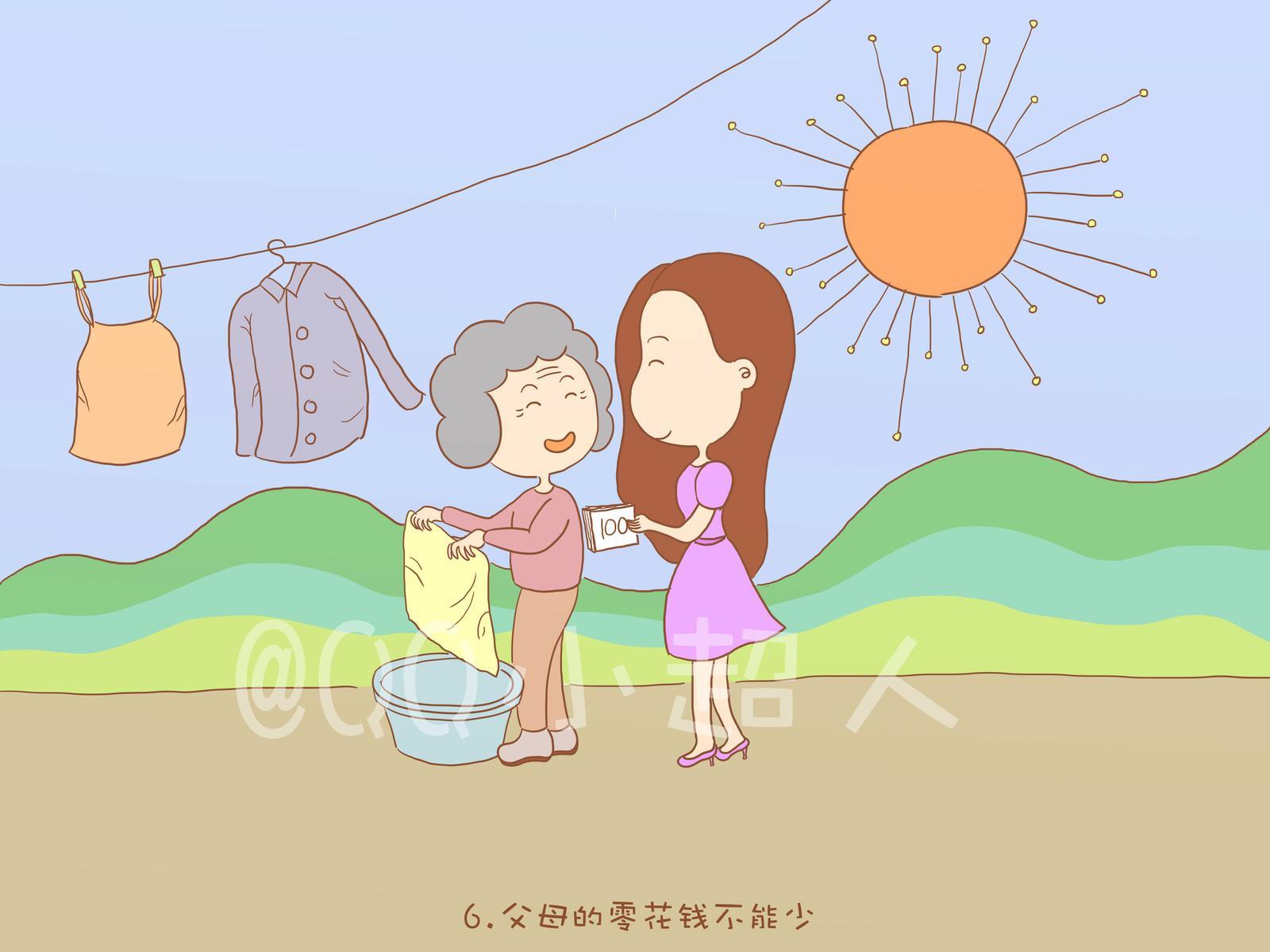 24孝图简笔画
